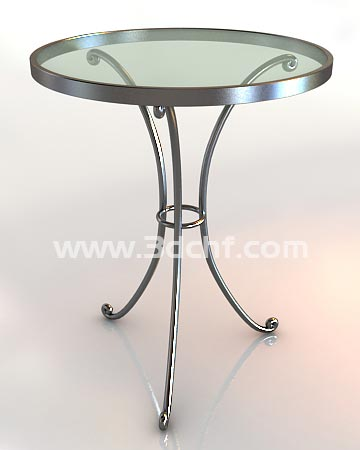 iron table 3d model