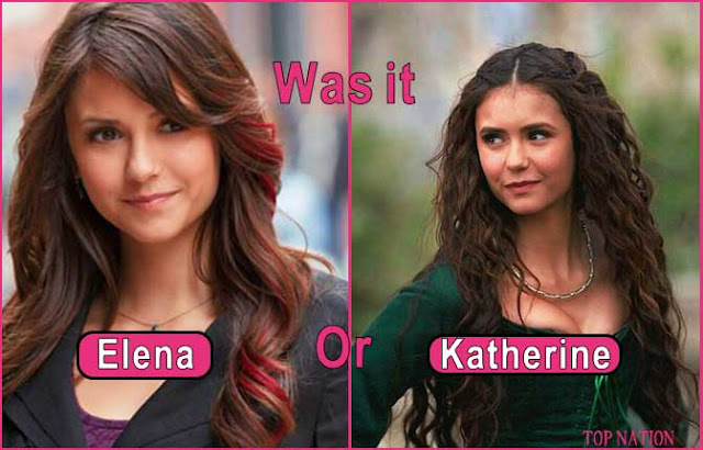 Only a True Vampire Diaries Fan Can Answer was it Katherine Or Elena?