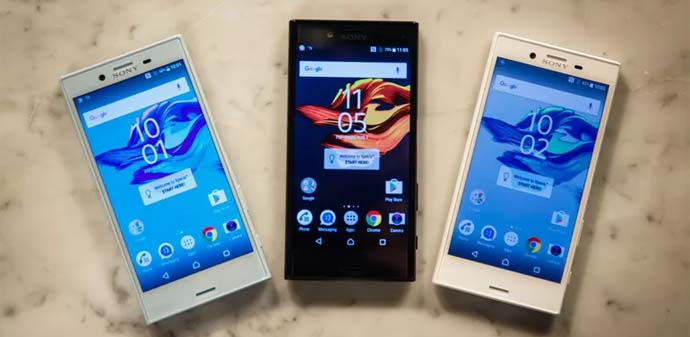 HP Android Nougat - Sony Xperia X
