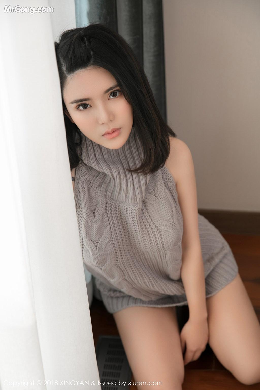 Image XingYan-Vol.012-Lily-MrCong.com-006 in post XingYan Vol.012: Người mẫu 陈曦Lily (51 ảnh)