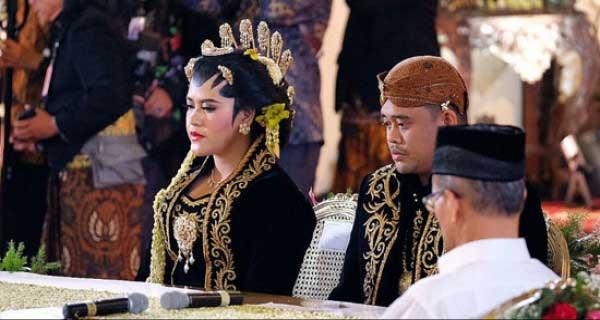 Selamat! Bobby Nasution Resmi Sah Menikahi Putri Presiden Joko Widodo