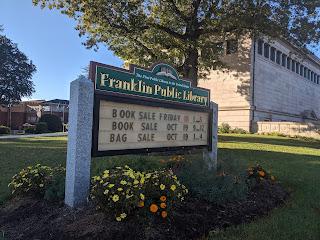 Franklin Library Book Sale & Bag Sale: Oct 18-19