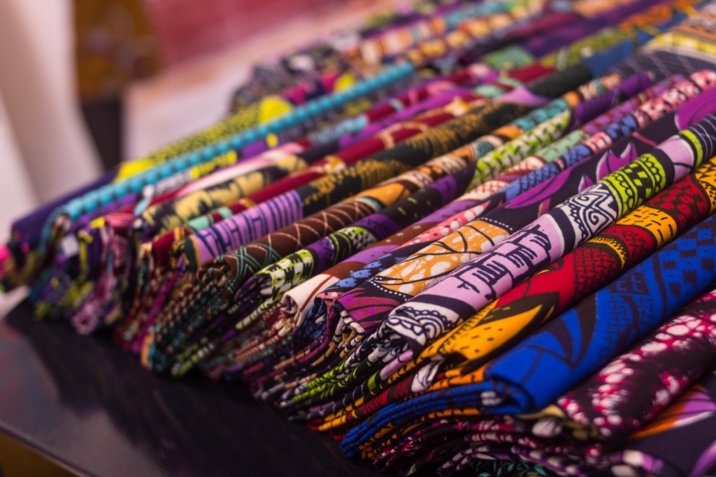 Vibrant Vlisco Fabric