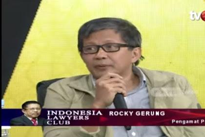 Rocky Gerung Ungkap Misi Jahat terhadap Gerakan 212