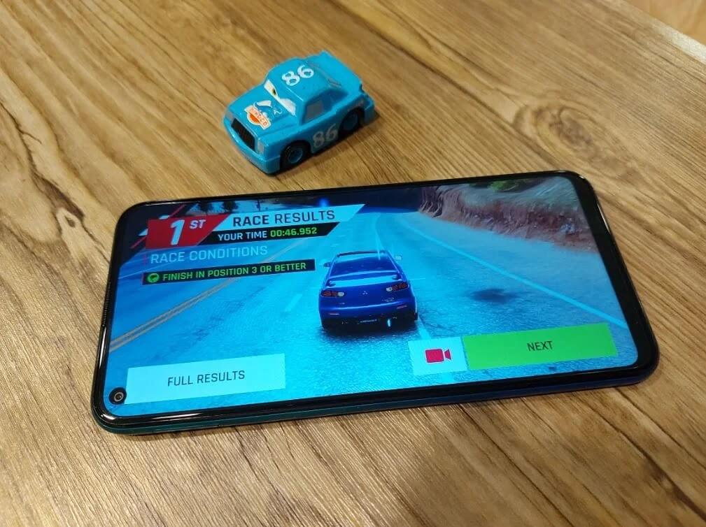 Asphalt 9 Game on Huawei Y7p