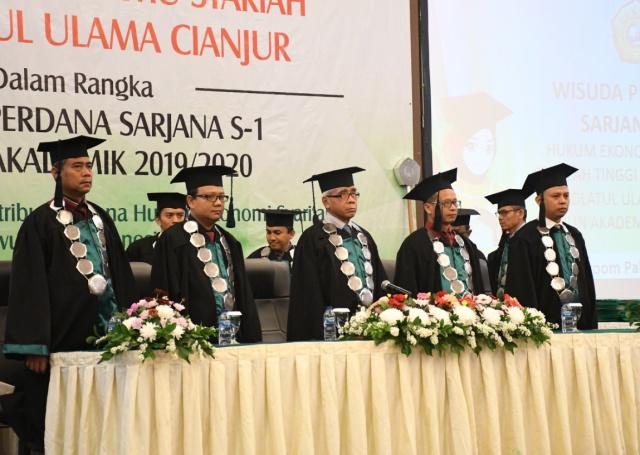 79 Mahasiswa STISNU Cianjur Di Wisuda, Begini Kata Ridwan Kamil