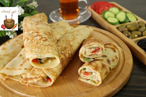 أطيب وأسرع وجبة فطور او عشاء ممكن تعملوها سهلة وسريعة وبمكونات بسيطة
