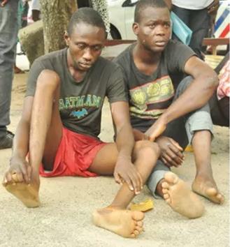 shoemaker okada man arrested robbery lagos