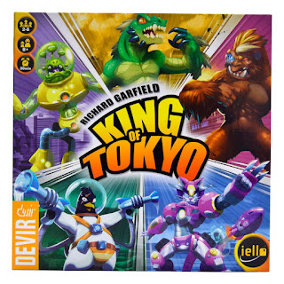 Opiniones de King of Tokyo the board game