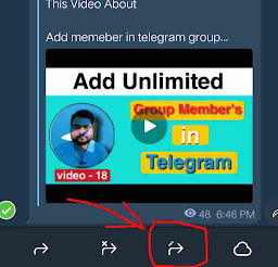 Remove telegram forward name