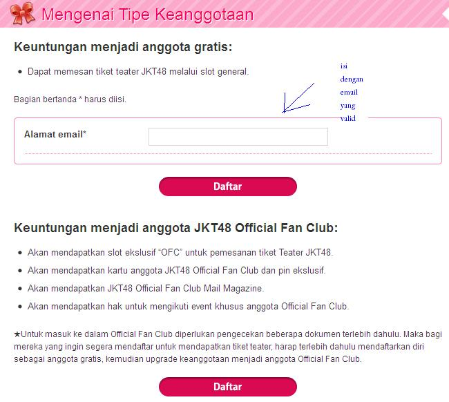 Jkt48 Fanblog Aku Mau Pesan Tiket Teater Jkt48