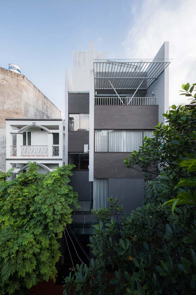 Nhà phố đẹp 4 tầng mặt tiền 5m tại Biên Hòa, Đồng Nai