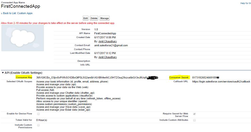 Amit Salesforce | Salesforce Tutorial: Test Salesforce API