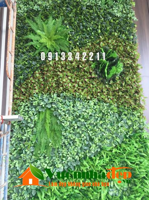 Thi Công tường cây giả - Đẹp như tường cây thật - 23