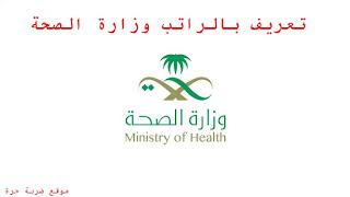تعريف بالراتب وزارة الصحة رابط وطريقة استخراج تعريف بالراتب وزارة الصحة السعودية