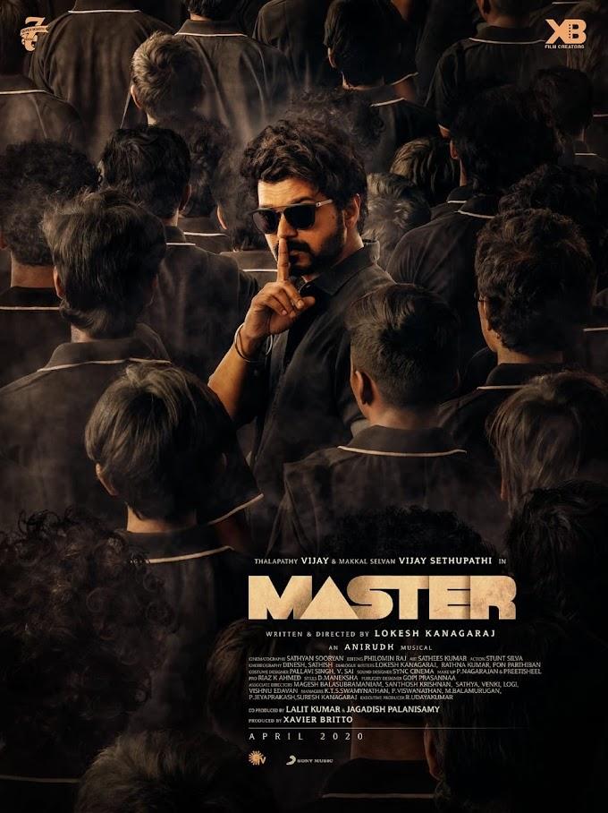 Vijay's Master Movie Ringtones and bgm for Mobile