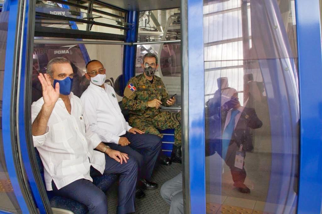 Gobierno estudia ampliación de la Línea del Metro y anuncia teleférico en Los Alcarrizos