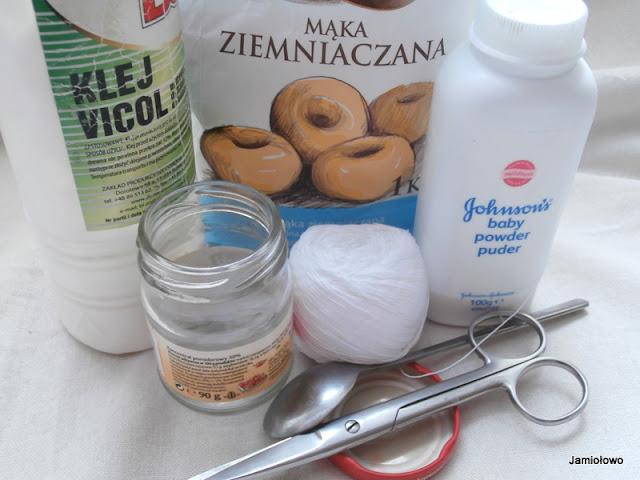 przedmioty potrzebne do produkcji pręcików