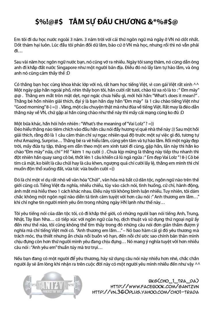 Gantz chap 354 trang 1