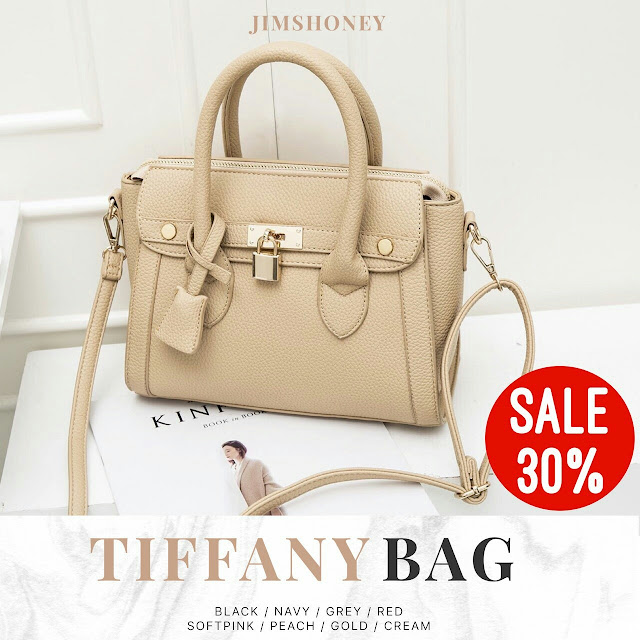 Jims Honey Tiffany Bag Cream