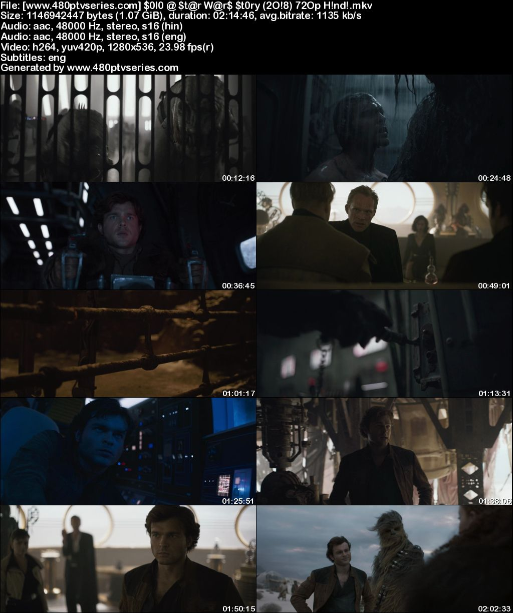 Download Solo: A Star Wars Story (2018) 1GB Full Hindi Dual Audio Movie Download 720p Bluray Free Watch Online Full Movie Download Worldfree4u 9xmovies