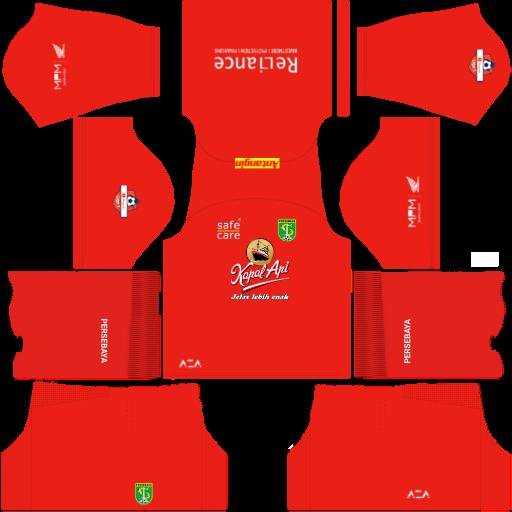kit-home-penjaga-gawang dls-persebaya-surabaya