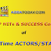 Top Hits and Success Count of Bollywood Actors - All Time List