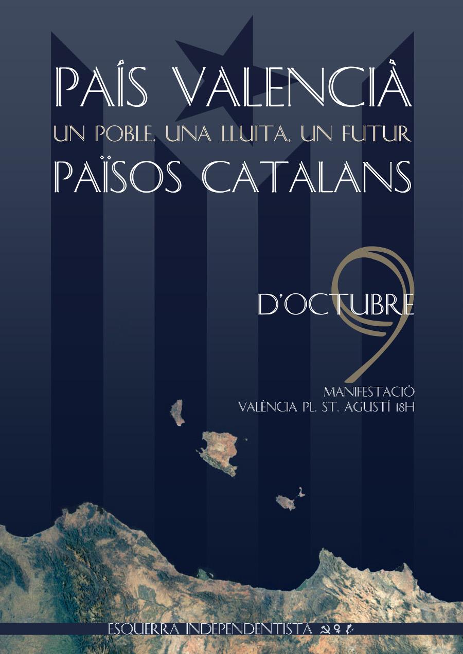 Resultat d'imatges de 9 octubre països catalans