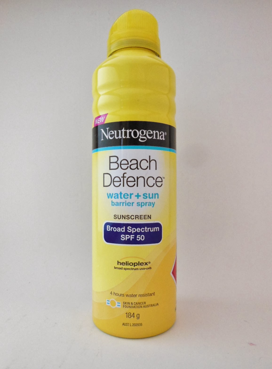 Neutrogena Beach Defence Review
