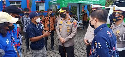 Kapolresta Malang Kota Cek Pelayanan Arema Police Sobo Kelurahan