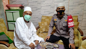 Binmas Polsek Cangkuang Polresta Bandung Gandeng Tokoh Agama Imbauan Larangan Mudik