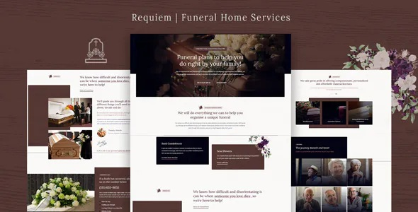Best Funeral Home Services WordPress Theme