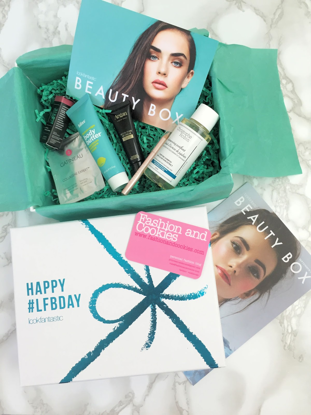 Lookfantastic Beauty Box from September 2016 review on Fashion and Cookies beauty blog, beauty blogger