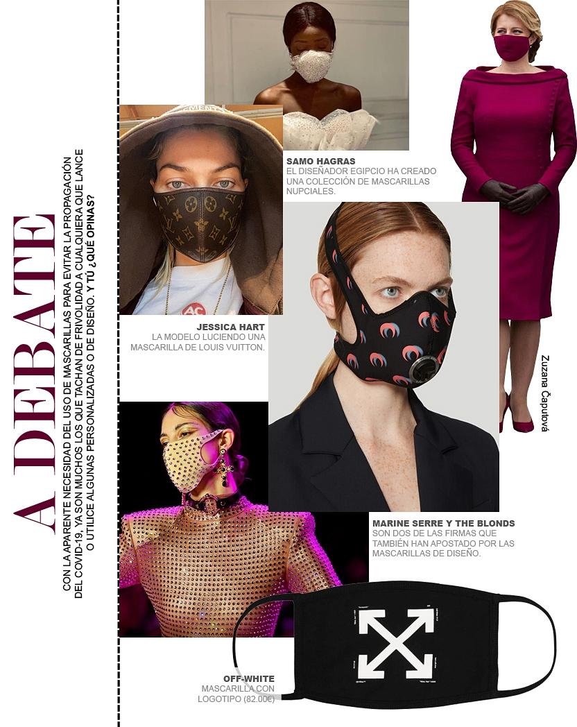 Las mascarillas de diseño ¿acierto o frivolidad?