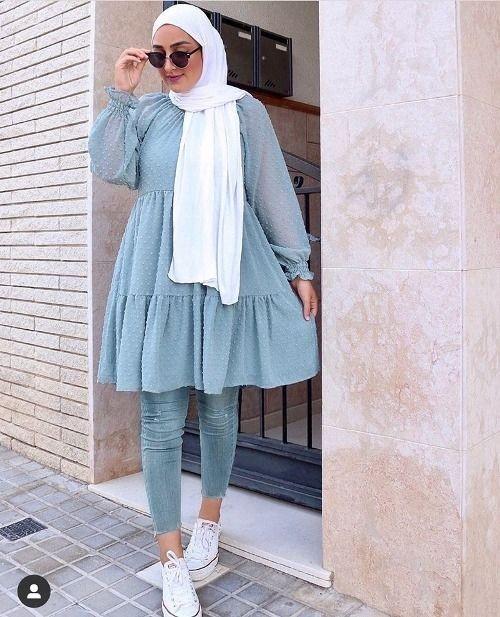 ملابس محجبات كاجوال 2021