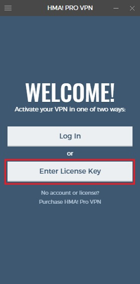 license key hma pro vpn