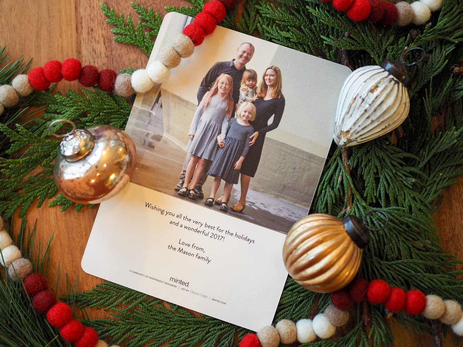 Little Hiccups: Our Christmas Cards 2016