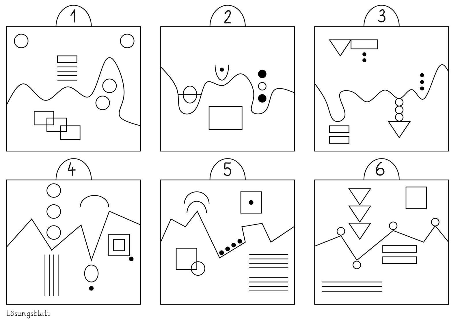 Lernstübchen: die visuelle Wahrnehmung trainieren