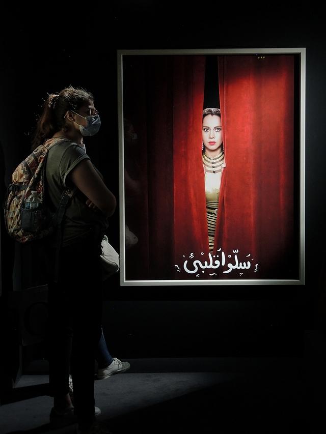 Parijs: Institut du monde arabe - tentoonstelling 'Divas, D'Oum Kalthoum à Dalida'