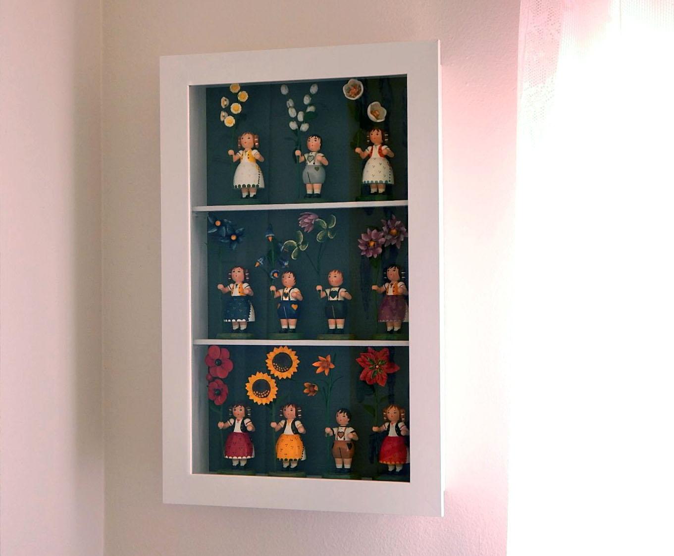 Sa Bess Vintage Ikea Kasseby Hack Make A Doll Display Case
