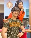 kanchi singh with her boyfriend rohan mehra