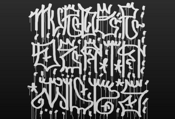 Cool Cursive Graffiti Alphabet Styles Generator – Wonderful
