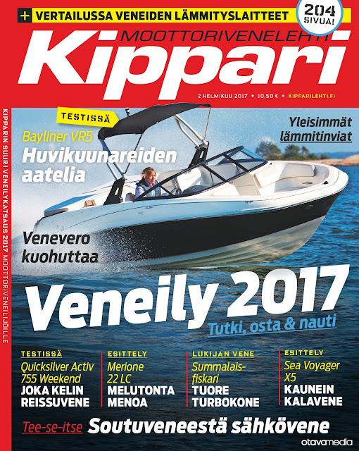 Valokuva Kippari-lehden kannesta