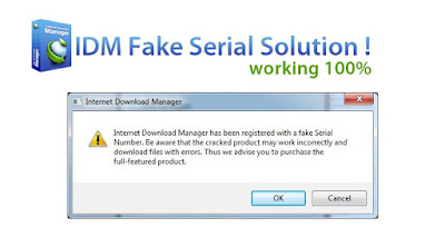 Cara Mengatasi IDM Fake Serial Number 2016 100% Work