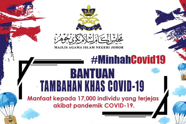 Bantuan Khas COVID-19 Daripada MAINJ. Ini Syarat Dan Cara Memohon