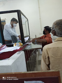 मुख्यमंत्री के नाम सौंपा ज्ञापन, क्वॉरेंटाइन करने के लिए  व्यवस्था करे सरकार