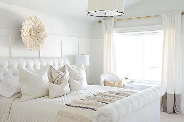 Các tông màu đẹp trong thiết kế phòng ngủ
