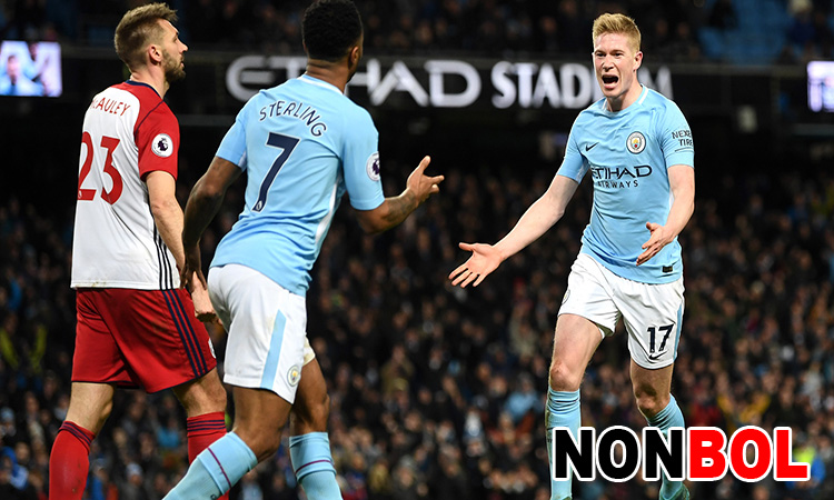 Cuplikan Gol Manchester City 3-0 West Brom   Liga Inggris Pekan 25