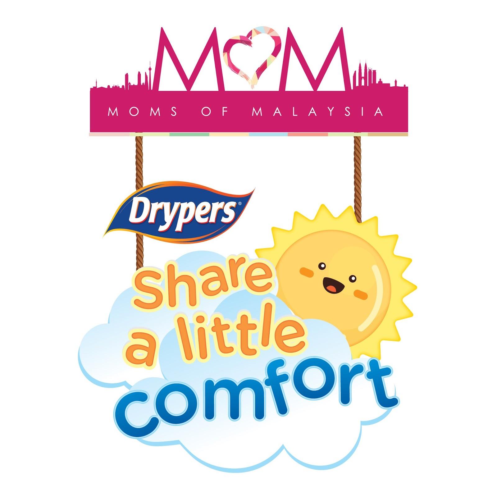 KEMPEN DRYPERS 'MOMS OF MALAYSIA' DAN PROGRAM CSR 'SHARE A LITTLE COMFORT'