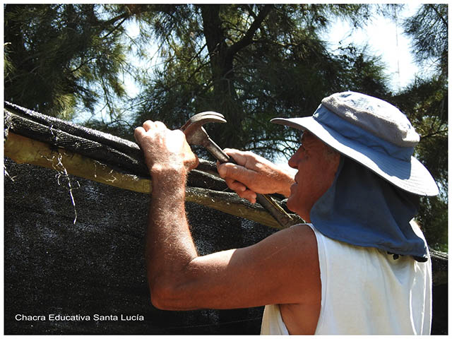 Reparaciones en la Chacra- Chacra Educativa Santa Lucía